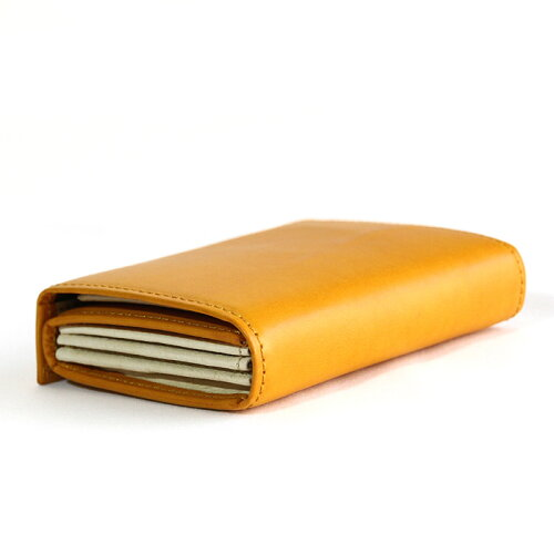 m+エムピウMILLEFOGLIE2Pigナポリ財布