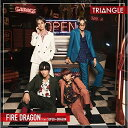 CD/TRIANGLE -FIRE DRAGON- (TYPE-A)/ファイヤードラゴン from SUPER★DRAGON/ZXRC-2052