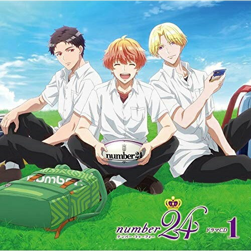【取寄商品】 CD/オリジナルアニメ「number24」ドラマCD1/ドラマCD/MVC-54画像