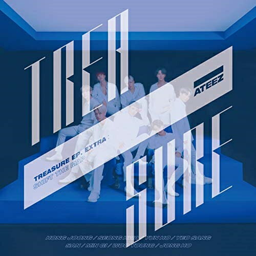 ロック・ポップス, アーティスト名・あ行 CDTREASURE EP. EXTRA:Shift The Map (CDDVD) (TYPE-A)ATEEZCOZP-1603