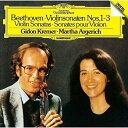 CD/ベートーヴェン:ヴァイオリン・ソナタ第1番〜第3番 (SHM-CD) (来日記念盤)/アルゲリ