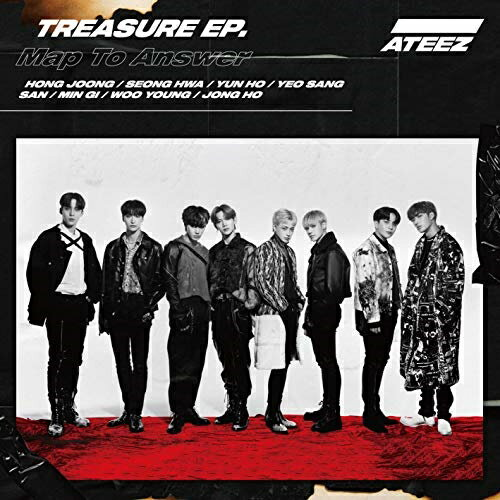 ロック・ポップス, アーティスト名・あ行 CDTREASURE EP. Map To Answer (CDDVD) (Type-A)ATEEZCOZP-1627
