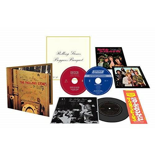 CD/ベガーズ・バンケット(50周年記念エディション) (2ハイブリッドCD+ソノシート) (歌詞対訳付/7インチ紙ジャケット) (完全限定盤)/ザ・ローリング・ストーンズ/UIGY-9709