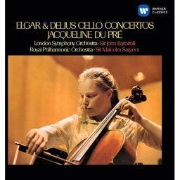 CD/エルガー/ディーリアス:チェロ協奏曲 (解説付)/ジャクリーヌ・デュ・プレ/WPCS-23058