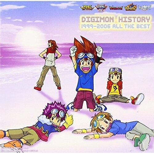 CD, アニメ CDDIGIMON HISTORY 1999-2006 ALL THE BESTNECA-30257
