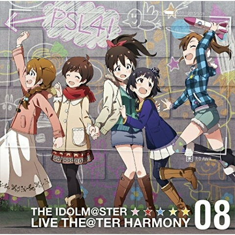 ☆ CD/THE IDOLM@STER LIVE THE@TER HARMONY 08/ミックスナッツ/LACA-15438