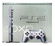 [Used] PlayStation 2 PS2 hard-body Satin Silver [02P23Apr16] [Picture]