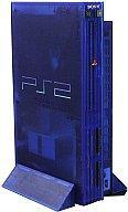 【送料無料】【smtb-u】【中古】PS2ハード プレイステーション2本体 オーシャン・ブルー(SCPH-3...