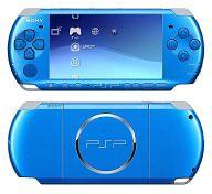 【中古】PSPハード PSP本体 バイブラント・ブルー(PSP-3000VB)