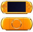 【中古】PSPハード PSP本体 ブライト・イエロー(PSP-3000BY)