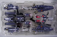 中古 フィギュアDX超合金VF-25メサイアバルキリー用スーパーパーツ(早乙女アルト機カラー)「マクロスF(フロンティア)」魂