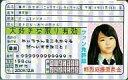【新品】雑貨 AKB48 ファン免許証第4弾 AKF-36 峯岸みなみ【画】