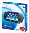 【中古】PSVITAハード PlayStation Vita本体<<3G / Wi-Fiモデル>>(クリスタル・ブラック)[初回限定版][PCH-1100 AA01]