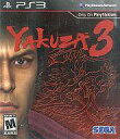 【中古】PS3ソフト 北米版 YAKUZA3 (18歳以上対象・国内版本体動作可)