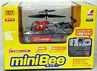 【エントリーでポイント10倍!(9月26日01:59まで!)】【中古】ラジコン 飛行機(本体) ラジコン 赤外線ヘリコプター miniBee-ミニビー- レッドAチャンネル画像