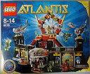 【中古】おもちゃ LEGO レゴ シャーク・キャッスル 「ATLANTIS-アトランティス-」 8078 【0304superP10】【画】