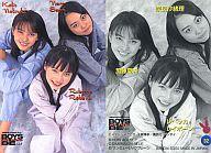 【中古】コレクションカード(女性)/BOYS BE … ALIVE CASTトレーディングカード No.32 : レベッカレイボーン(ベッキー)・加藤夏希・奈良沙緒理/BOYS BE … ALIVE CASTトレーディングカード画像