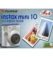 【中古】カメラ インスタントカメラ INSTAX MINI10 チェキ