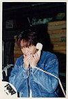 【中古】生写真(ジャニーズ)/アイドル/TOKIO TOKIO/城島茂/デニムジャケット・左手受話器・上半身/公式生写真