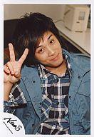 【中古】生写真(男性)/アイドル/NEWS NEWS/草野博紀/上半身・チェックシャツ青・上着水色・右...