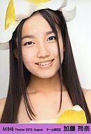 【中古】生写真(AKB48・SKE48)/アイドル/AKB48 加藤玲奈/顔アップ/劇場トレーディング生写真...