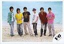 【中古】生写真(男性)/アイドル/V6 V6/集合(6人)/横型・浜辺・海・全身・岡田紫帽子/公式生写...