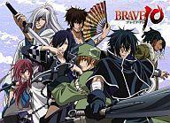 【中古】抱き枕カバー・シーツ(キャラクター) 7人柄 もふもふひざ掛け 「BRAVE10」画像