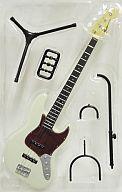 【中古】食玩 トレーディングフィギュア 62 JAZZ BASS-ジャズベース- Olympic White 「フェンダー・ギター・コレクション」