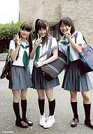 【中古】生写真(AKB48・SKE48)/アイドル/AKB48 市川美織・木本花音・城恵理子/風は吹いている...