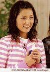 【中古】生写真(ハロプロ)/アイドル/モーニング娘。 モーニング娘。/石川梨華/バストアップ・衣装白・ピンク・ボーダー・両手重ね・背景茶色/公式生写真