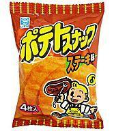【新品】スナック菓子 お菓子◆【BOX】 ポテトスナック ステーキ味 (20個セット)【マラソンse...