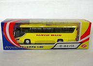 【中古】ミニカー 1/80 はとバス #871 (イエロー) 「フェイスフルバスシリーズ No.2」