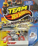 【新品】ミニカー ミニカー 1/64 HW450F(レッド×ブラック×グレー) 「TEAM Hot Wheels」 [X012...