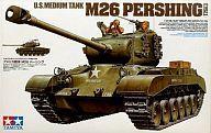 【中古】プラモデル 1/35 アメリカ戦車 M26 パーシング 「ミリタリーミニチュアシリーズ No.254」 [35254]