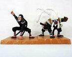 【中古】食玩 トレーディングフィギュア 三代目火影&猿猴王・猿魔 ナルト忍形集 口寄せの術セット 「NARUTO-ナルト-」 【タイムセール】
