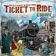 [Used] Board game ticket-to-Ride Europe Japan language version (Ticket to Ride: Europe) [02P06Aug16] [Picture]