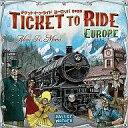 【中古】ボードゲーム チケット・トゥ・ライド ヨーロッパ 日本語版(Ticket to Ride: Europe)