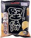 【新品】スナック菓子 お菓子◆堅あげポテト ブラックペッパー味 65g【10P17aug13】【画】