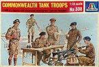【中古】プラモデル 1/35 COMMONWEALTH TANK TROOPS -イギリス連邦軍戦車兵 6体・MG42セット- [308]