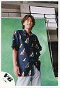 【中古】生写真(ジャニーズ)/アイドル/V6 V6/坂本昌行/膝上・衣装紺(船の柄)・背景緑・下から撮影/公式生写真