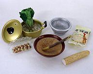 【中古】食玩 トレーディングフィギュア ほうれん草のごま和え&とろろ芋 「ぷちサンプルシリーズ お母さんの台所」