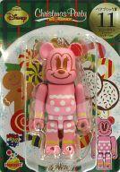 【中古】フィギュア BE@RBRIC-ベアブリック- 11.ミニーマウス ジンジャークッキーVer. 「Happyくじ ディズニー Christmas Party BE@RBRIC」 ベアブリック賞【タイムセール】