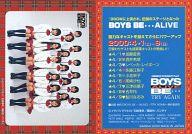 【中古】コレクションカード(女性)/BOYS BE … ALIVE CASTトレーディングカード 集合(17人)/全身・衣装制服白赤・座り/BOYS BE … ALIVE CASTトレーディングカード画像