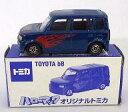 ミニカー 1/60 トヨタ bB(ブルー) 「ハローマック オリジナルトミカ」