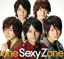 【中古】邦楽CD Sexy Zone / one Sexy Zone[DVD付初回限定盤]【10P13Dec14】【画】