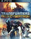 【中古】PS3ソフト 北米版 TRANSFORMERS FALL OF CYBERTRON(国内版本体動作可)
