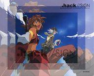 【エントリーでポイント10倍!(7月11日01:59まで!)】【中古】マウスパッド(キャラクター) 司&ミミル マウスパッド 「CD .hack//SIGN Original Sound & Song Track 1」 予約特典画像