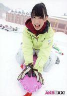 【中古】生写真(AKB48・SKE48)/アイドル/AKB48 増田有華/雪の上・スキーウェア/DVD「AKBと××!」特典
