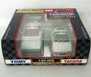 ミニカー トヨタ MR2(ホワイト) 2台セット 「トミカ&チョロQ 日本の名車 No.5」 トイズドリームプロジェクト限定