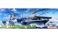 プラモデル・模型, その他 1092601:59 1700 USS RANDOLPH CV-15 - CV-15- MODERN SEA POWER SERIES 7050